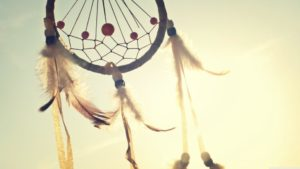 Image of a dream catcher for Dr. Linda Salvin's post on dreams