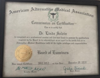 American Alternative Medical Association certificate